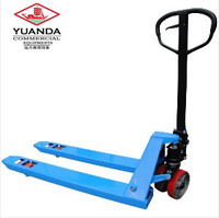 Good Capacity hand pallet jack with handle Usage Storage Warehouse