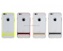 New fashion shockproof luxury ultrathin silicon combo phone cover for iphone6s/6splus