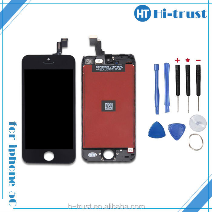 wholesale cell phone accessories Free DHL Glass Touch Screen Digitizer LCD Full Assembly Replacement For iPhone 5S