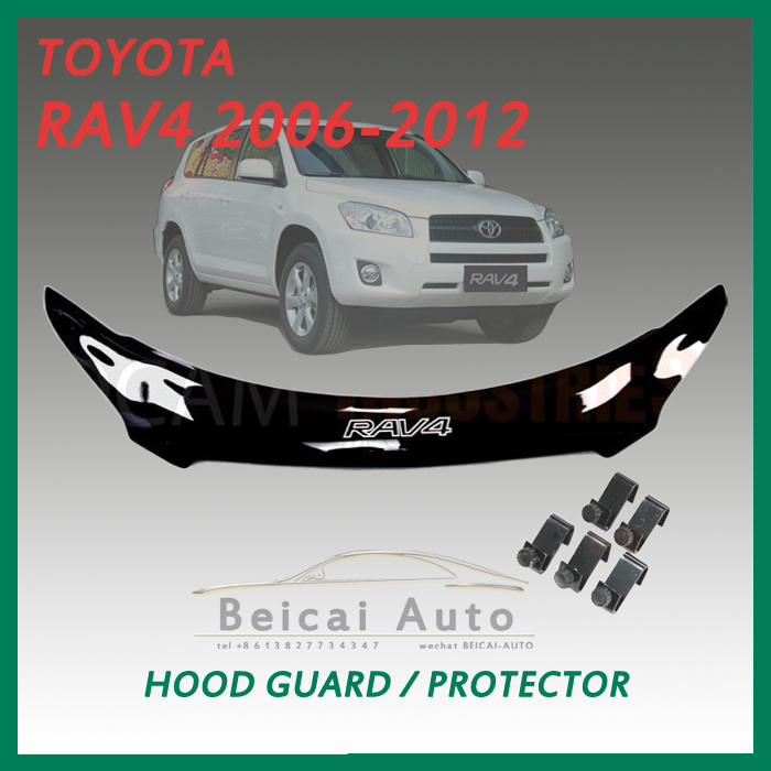 Bonnet Protector for TOYOTA RAV4 2006-2012 Tinted Guard