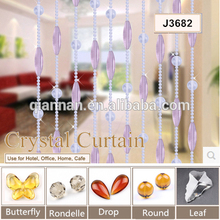 Supply glass beads for crystal door curtain wholesale