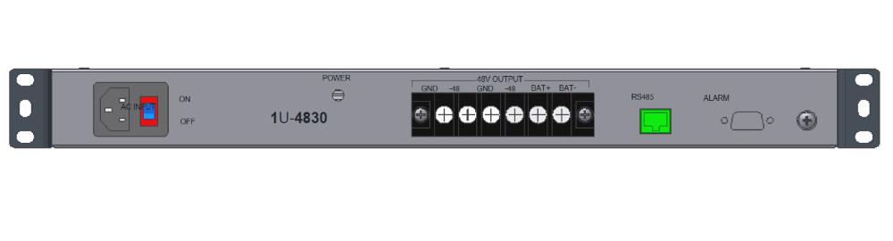 1u 19 Inch Rack Mount Power Supply 48v 10a 20a 30a
