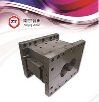 Type 35 wooden screw barrel bath tub for twin screw extruder