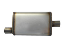 Stainless steel universal performance car muffler LT11225