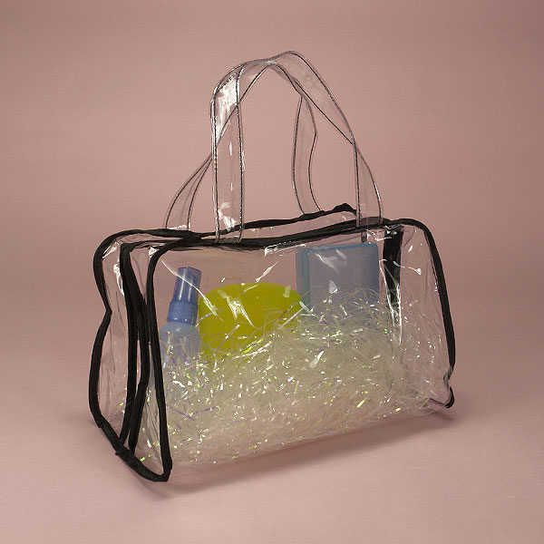 Wholesale Price High Quality Plastic PVC Bag With Tube Handle