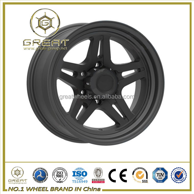 New design of suv wheel rim with 10 inch lip rims