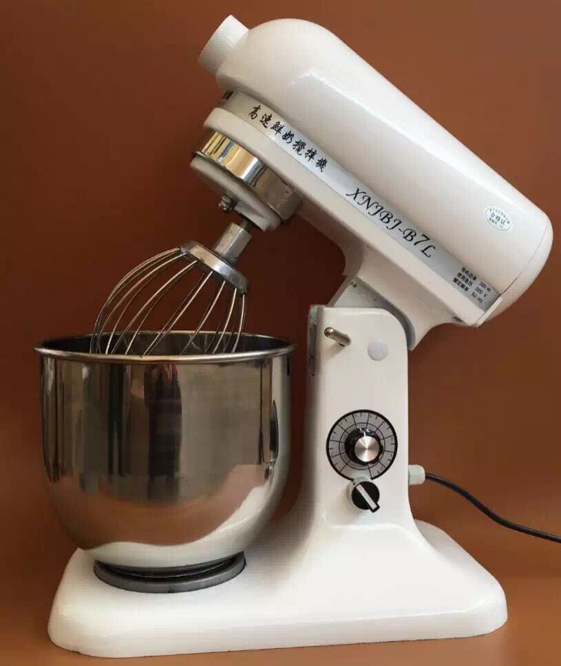 7L dough mixer middle speed Industrial rotimatic kitchen food aid mix dough electric cake stand mixer