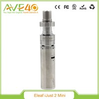 electronic cigarette vaporizer pen eleaf ijust2 Mini vapor tank 2ml Kit with 1100mAh similar ego Battery