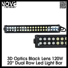 Top Seller 3D Optics Car Accessories Used Amber Light Bars LED Light Bar for Motorcycles Offroad Off Road JEEP 4x4