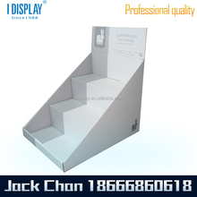 CD Cardboard Countertop Box Carton Display For Promotion Carton counter top display with hole for bottles