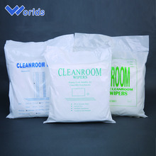 Consumable Medical Supplies Free Wiping Cloth Polyester Cleanroom Wipers