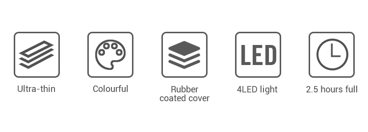 2019 new product universal dual usb portable lithium polymer power bank 5000mah