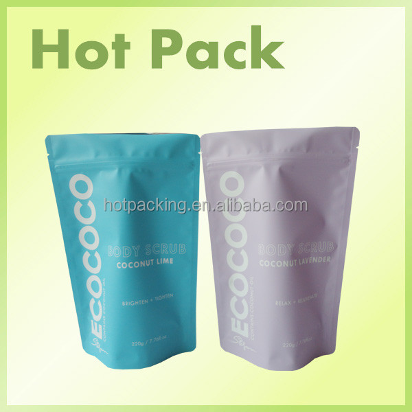 reusable bags with zip lock dried food packaging bags stand up pouch