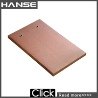 E1 270X170X14mm cheap easy install color coated flat roof glazing