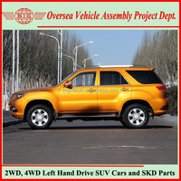 Gasoline Mitsubishi Engine Sports Automatic 4WD Cars for Sale
