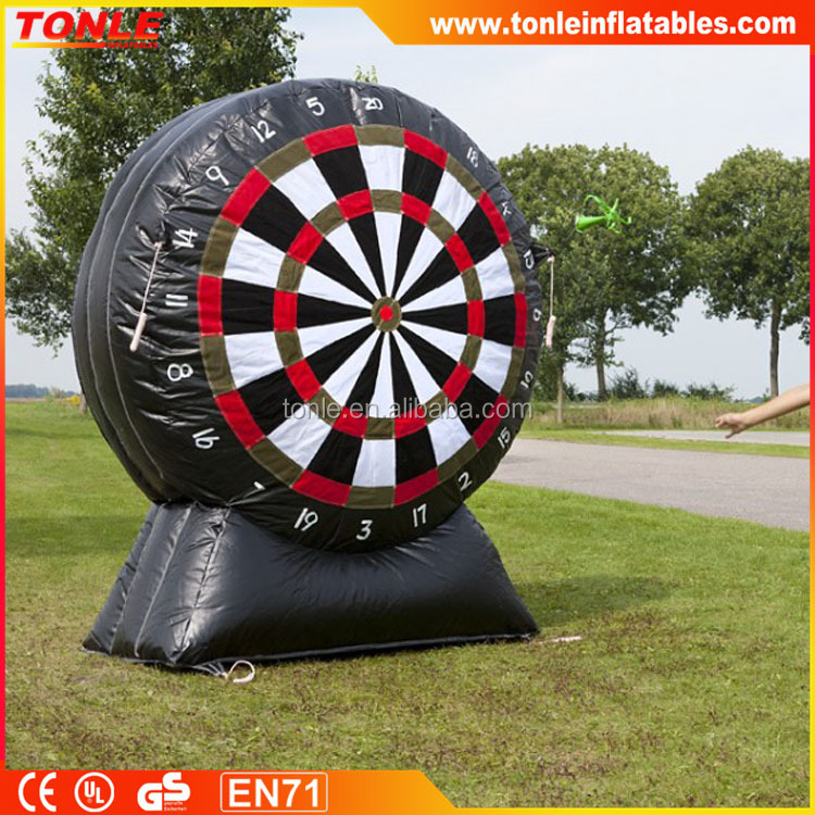 Mega Amusement inflatable Darts game for sale