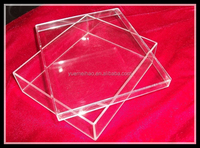 clear acrylic makeup storage boxes with cover