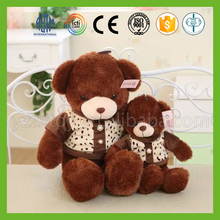 Factory direct sale handmade pp cotton stuffed washable vivid plush teddy bear
