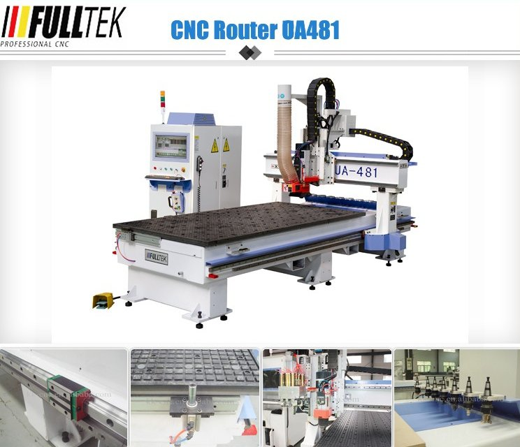 2016 best selling cnc router UA-481 for furniture woodworking