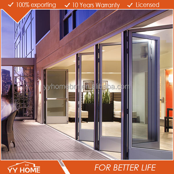 YY Home lowes glass interior folding pocket doors Australian Standards AS 2047