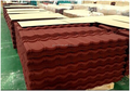 Alu-zinc roof sheet/expensive tile/fish scale tile roof