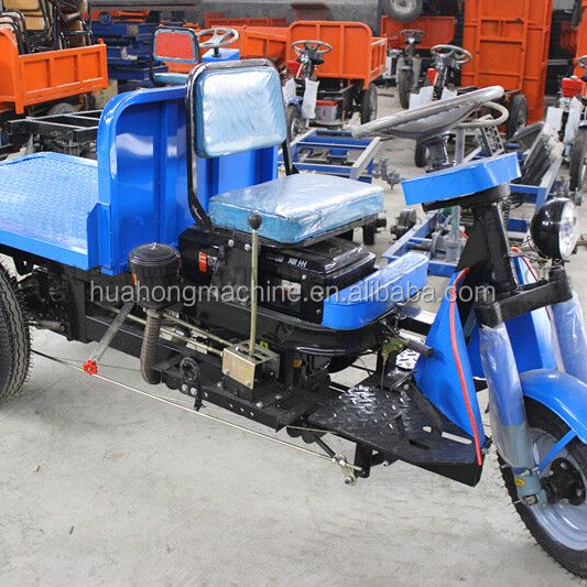 open body cargo dumper/electric flat car/3-wheeler tricycle from gold supplier