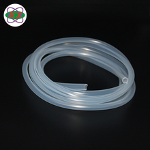 Manufacturers extruded platinum-cured silicone rubber straw for wine bottle