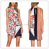 2015 Newarrival Nice high fashion printed african design dress,mature women wear WS00433