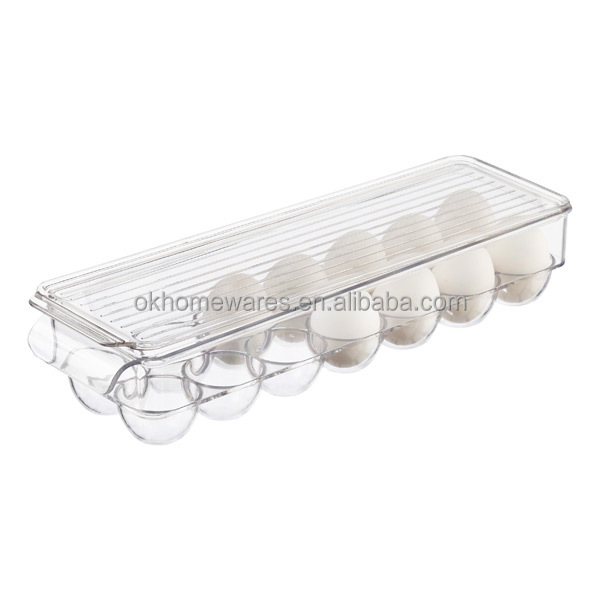 Fridge Bins Egg Holder Fridge and Freezer Storage Bins Plastic Fridage And Freezer Organizers