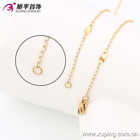 xuping 18K gold color necklace gold jewellery fashion neckless 42872