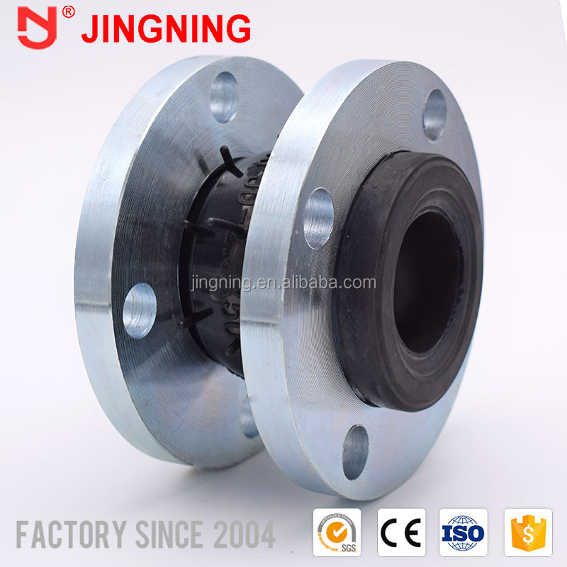 Jis 10k flanges industrial silicone bellows rubber expansion joints