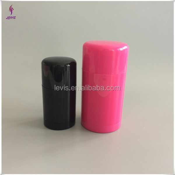 30ml 75ml empty plastic deodorant stick container packaging