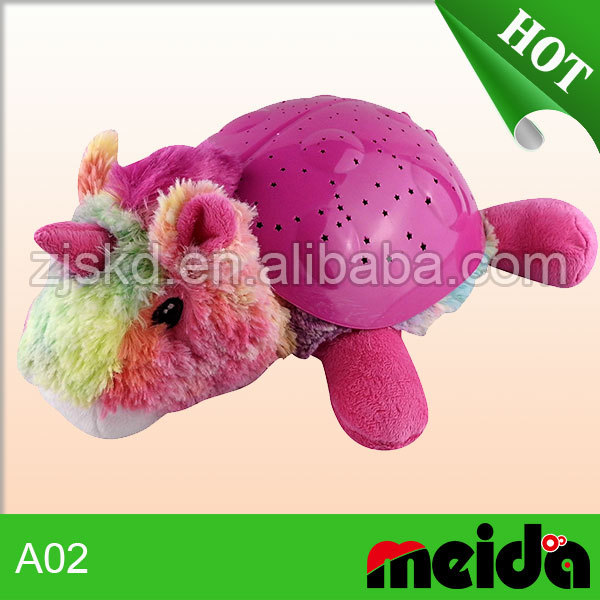 Constellation night light stuffed plush children toy with good quality