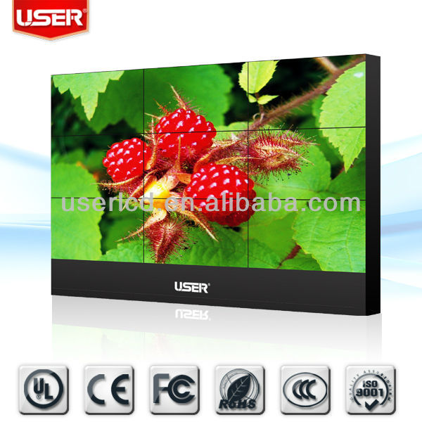 led background color video wall with original new Samsung 5.3mm panel