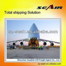 Shenzhen air freight rates to CVG, Covington by air shipping