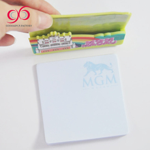 Advertising gifts paper cube office sticky memo pad sample