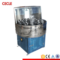 semi-auto potable PET bottle washing machine