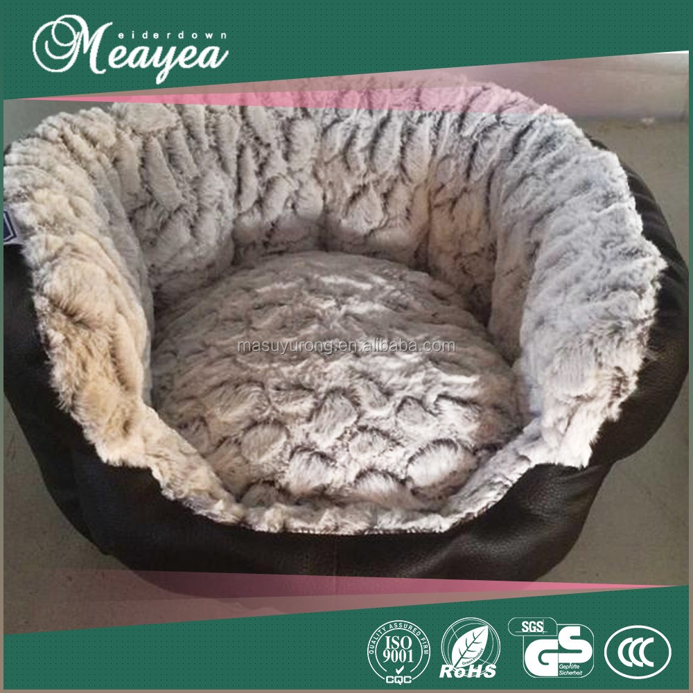 Luxury Cozy Cave flower shaped pet bed