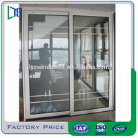 Aluminium sliding window decorative window security bars
