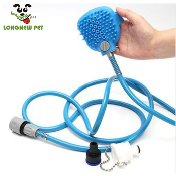 Pet Bathing Tool Pet Shower Sprayer and Scrubber in-One Shower Bath Dog Cat Horse Grooming Cleaning For Indoor & Outdoor