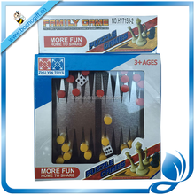 Mini magnetic chess game set backgammon puzzle game