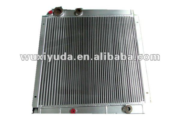 customize combined oil cooler for compressoer