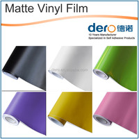 New type matte metallic brushed car sticker color change vinyl film with factory price