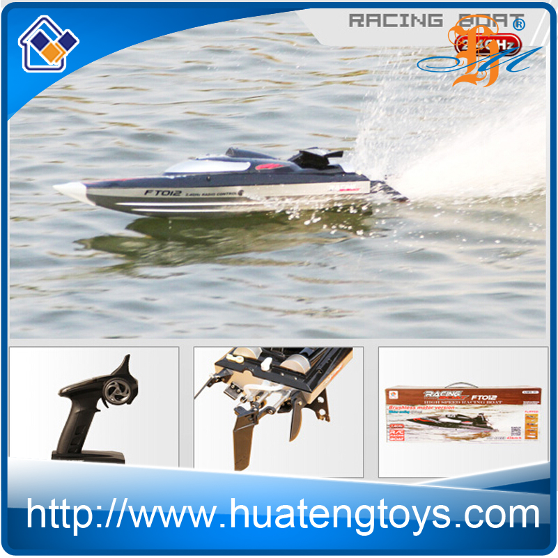 FT012 Brushless motor boat 50KM/H high speed racing boat remote control fishing boat for adults