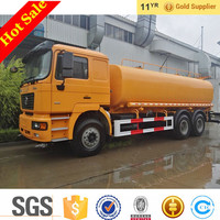 China Tanker Truck Shacman F2000 6x4 Water Sprinkler Truck