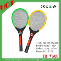 Hot selling fly catcher swatter supplier recharge mosquito swatter with Led light