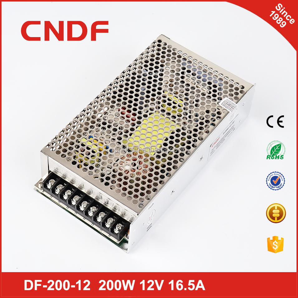 CNDF 220v Ac single output dc 12V stagelight&streetlight 200W 48V 4.2A switching power
