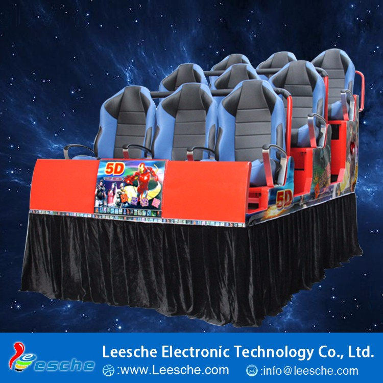 China Factory Wholesale Lowes Movie Theater 7D Cinema With Wheel Move