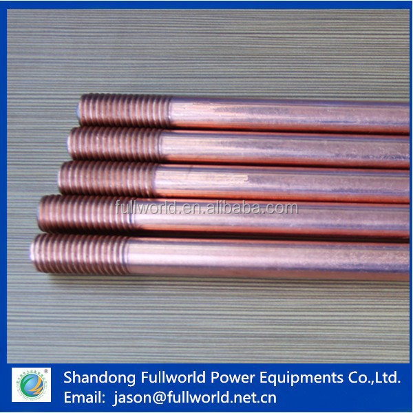 earthing electrode earthing material