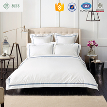 china supplier 100% cotton used hotel bed sheet